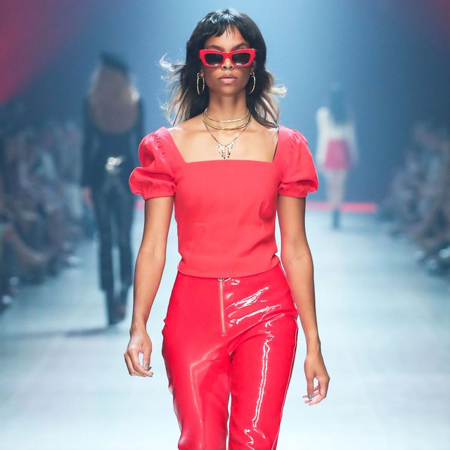 Our Runway Show at VAMFF Ticked off Autumn's Biggest Trend