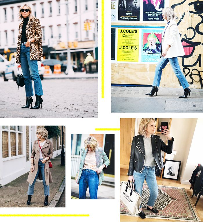 jeans and T-shirt outfits ideas