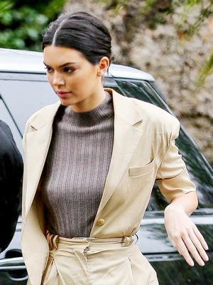 Well, Kendall Jenner Just Beat Me to This Trend