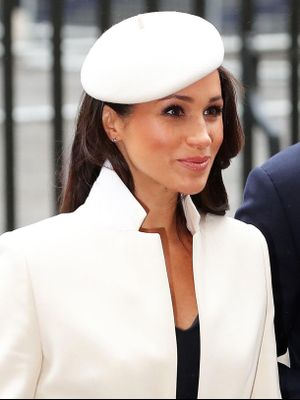 Meghan Markle Made Her First Appearance With the Queen in a Chic Coat