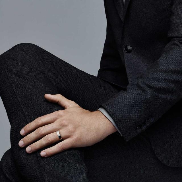 Tiffany & Co. Flat Wedding Band Ring