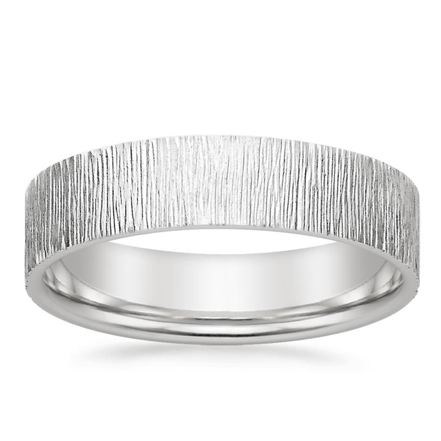Brilliant Earth Cyprus Wedding Ring in 18K White Gold
