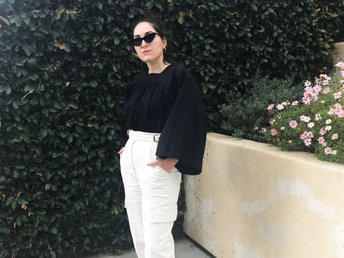 White Jeans Intimidate Me, So I Wore Them for a Week Straight