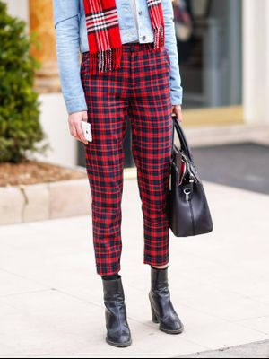 If You Update Your Wardrobe With Pants This Season, Make Sure They're Checkered