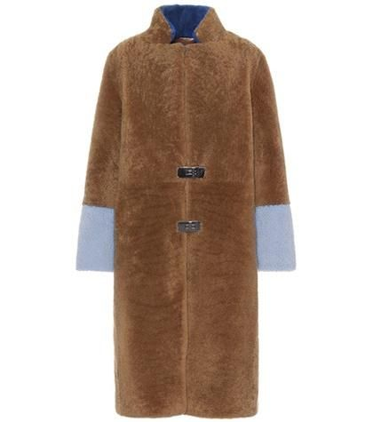 Feebe Waves shearling coat