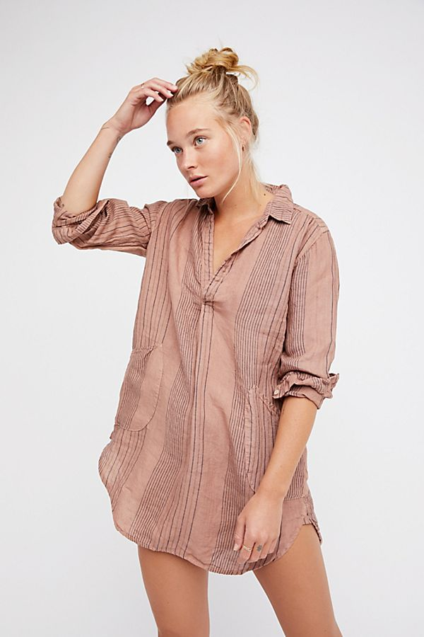 Teton Stripe Tunic by Free People x CP Shades