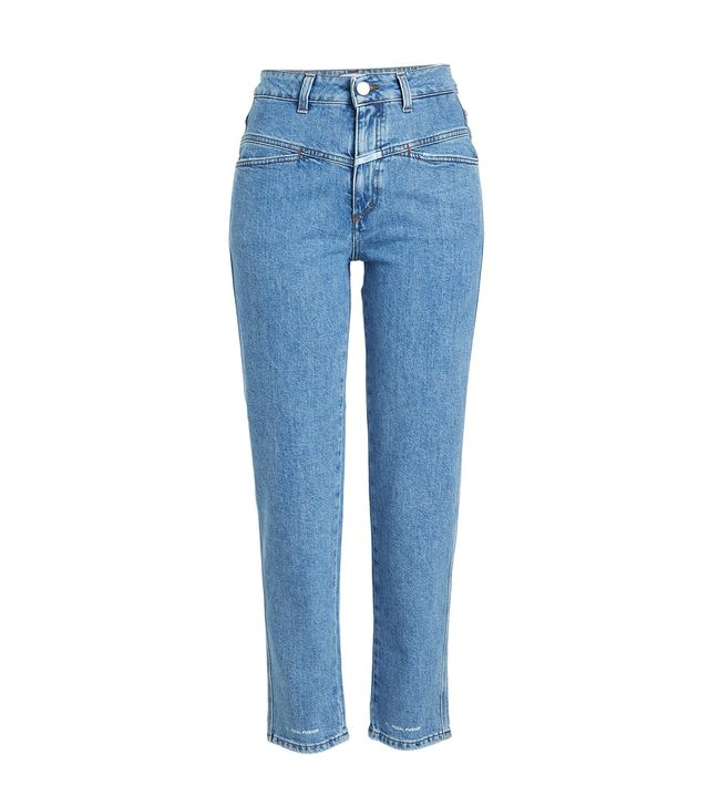 Closed Pedal Pusher Cropped Jeans