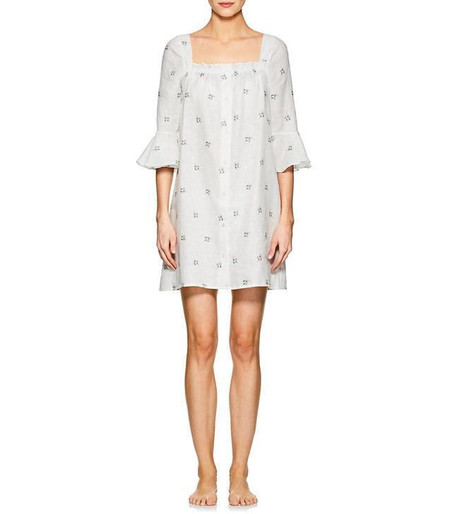 Women's Jane Floral Linen Minidress