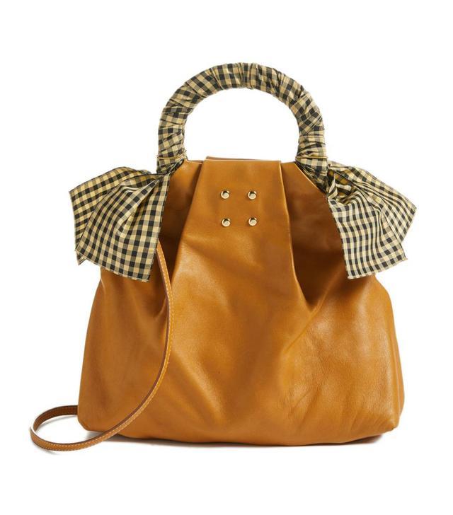 Trademark Hazel Leather Shopper