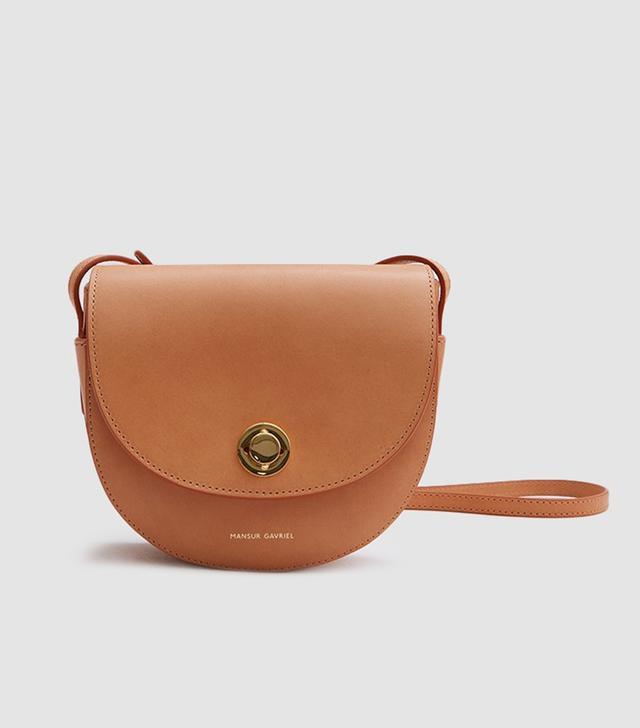 Mini Saddle Bag in Cammello