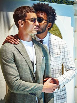 2 Men Kissing in a Fashion Ad: It's Life—Get Over It