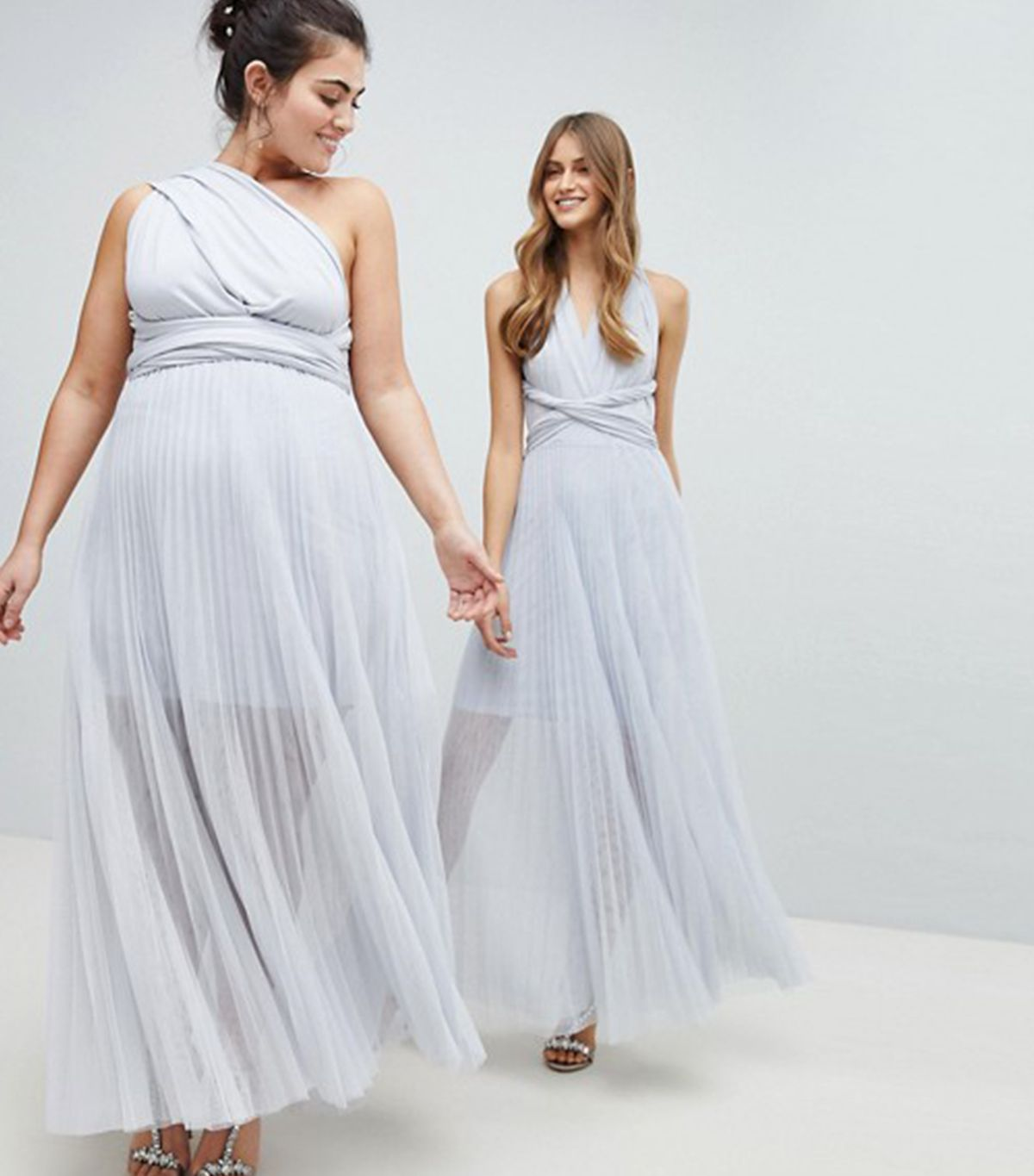 Bridesmaid dresses you can wear different ways gallery the prettiest bridesmaid dresses for a country style wedding the twisted ties are meant to be ombrellifo Image collections
