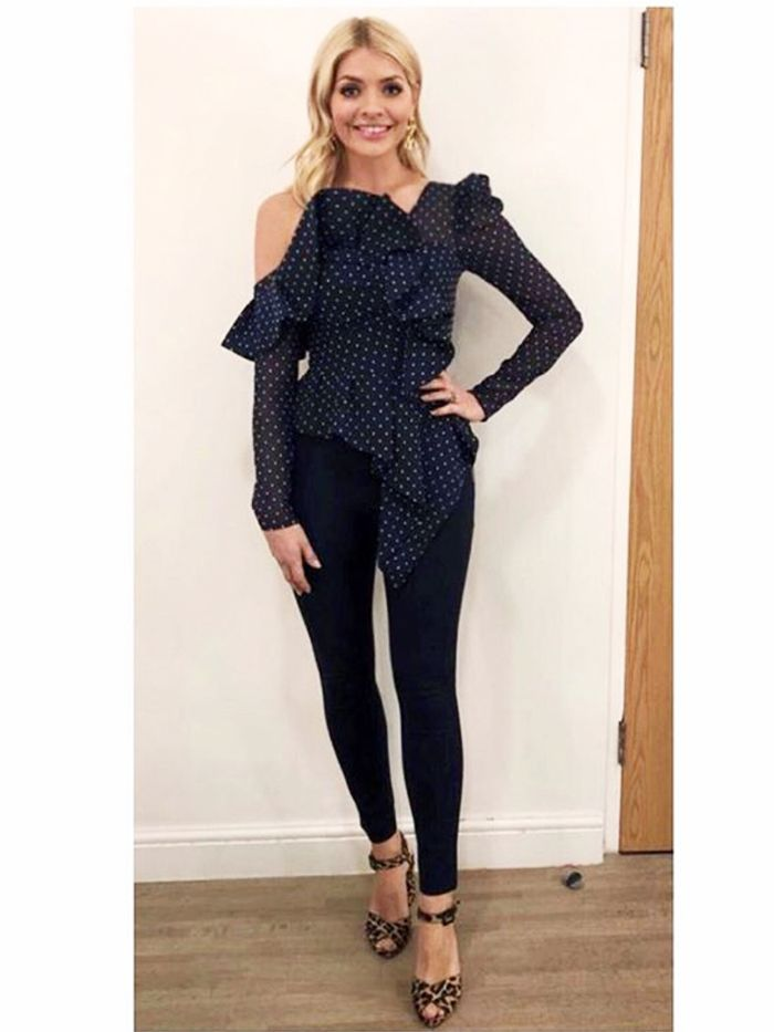 Holly Willoughby Leggings and Going Out Top