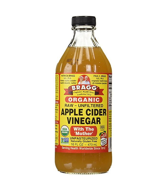 USDA Gluten Free Organic Raw Apple Cider Vinegar by Bragg