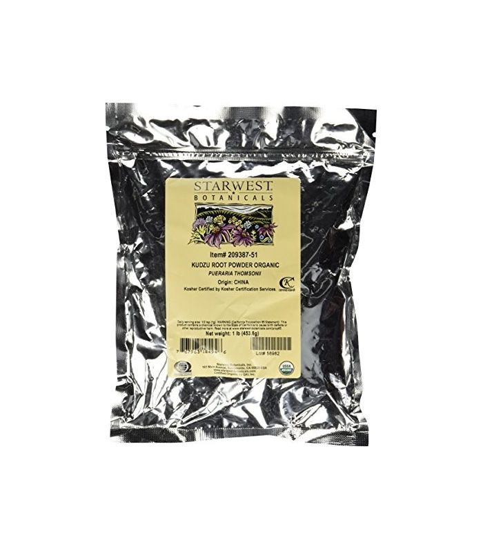 Organic Kudzu Root Powder by Starwest Botanicals