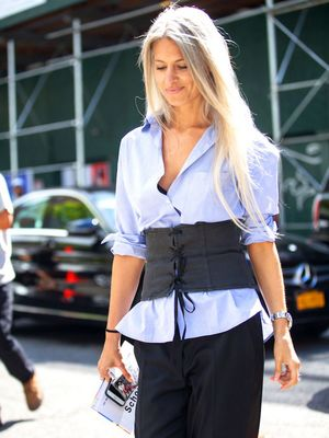 The Corset Tops You Need for a Cool Layered Look