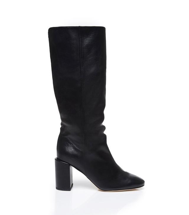 Dear Frances Bucket Boots in Black