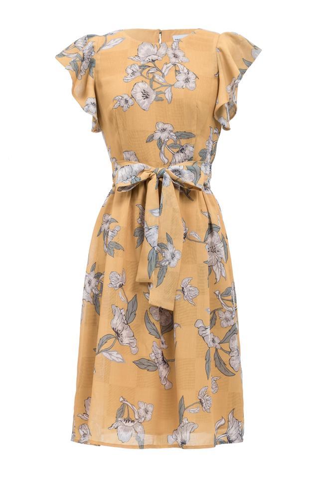 Chriselle x J.O.A. Fit & Flare Dress