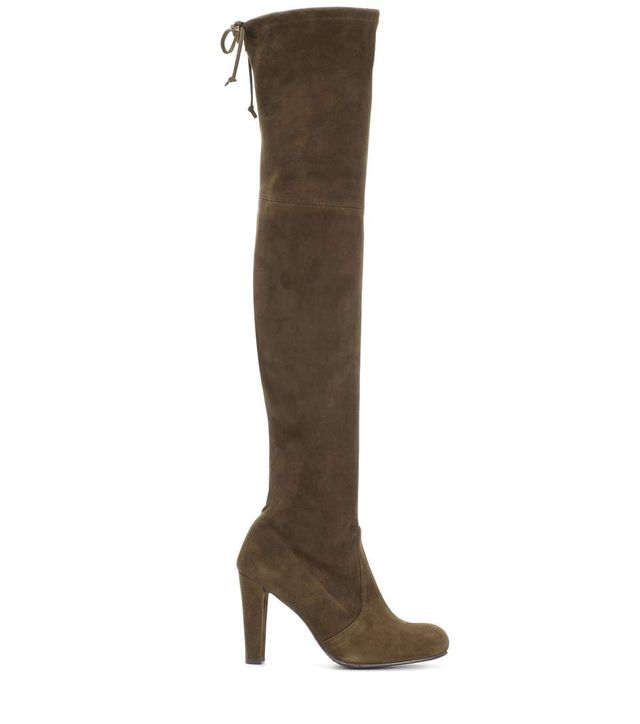 Highland suede over-the-knee boots