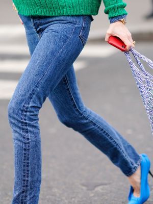 This Denim Trend Is So Extra in the Best Way Possible