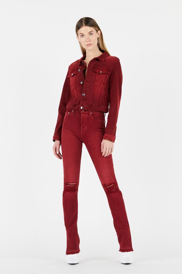 Cotton Citizen High Split Skinny Jeans
