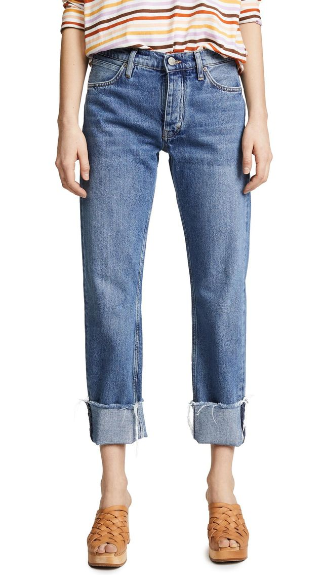 The Phoebe Original Cuffed Jeans