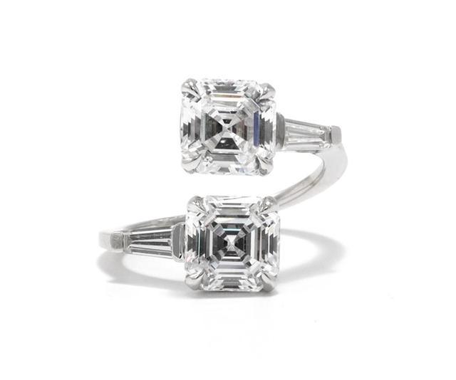 Margaret Asscher Cut Engagement Ring