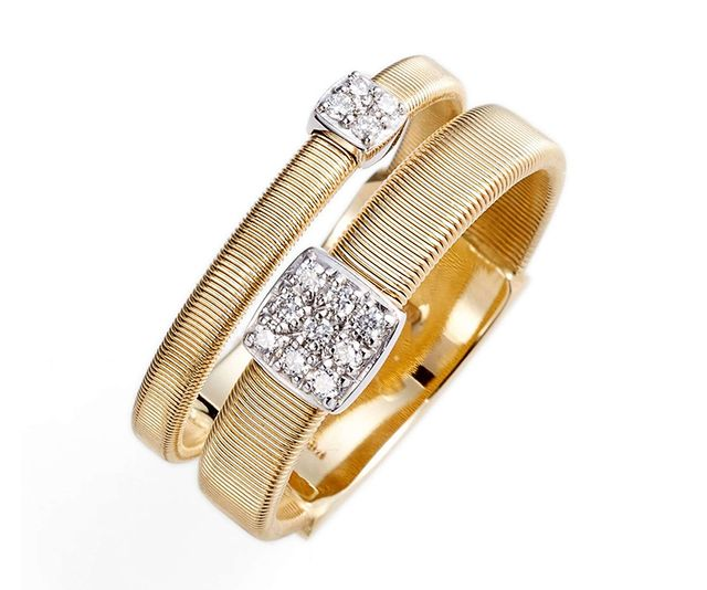 Masai Two Strand Diamond Ring