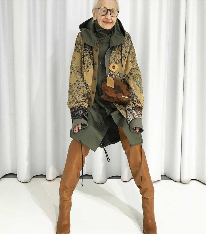 Older fashion Instagrammers: Erni Stollberg