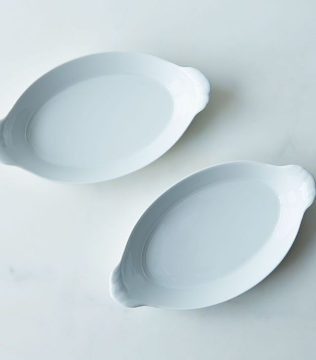 Pillivuyt Oval Eared Roasting Dish