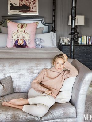 Sharon Stone's Gorgeous Home Has French Château Vibes