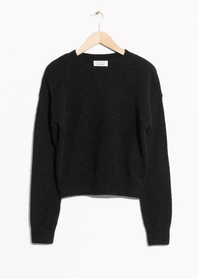 Mohair & Wool Sweater