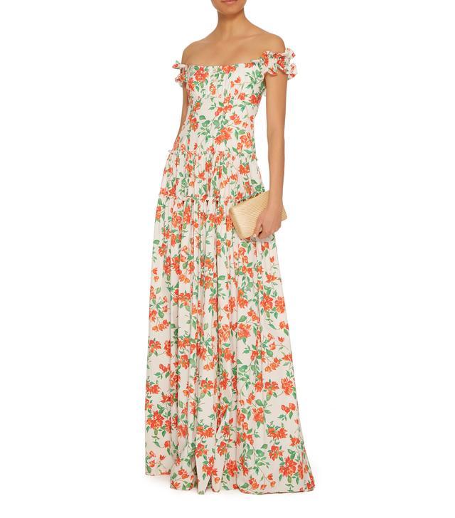 Maria Bougainvillea Maxi Dress