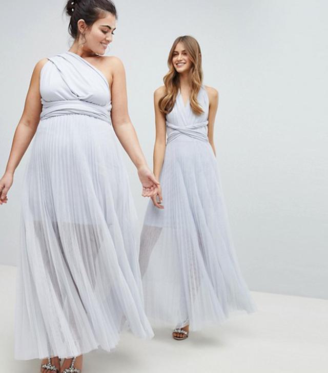 Exclusive Corwin Multi Tie Maxi Dress
