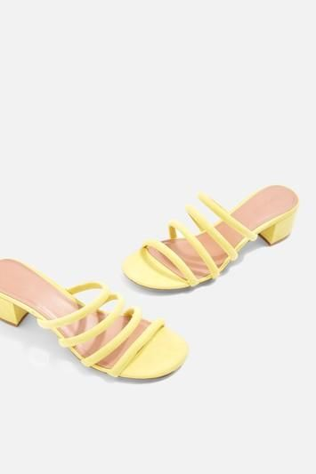 Diana Strappy Mules