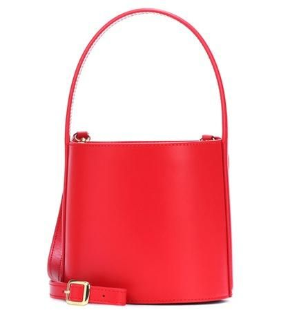 Bisset leather bucket bag