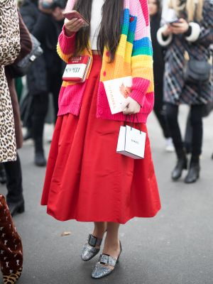 If You're Not Ready for the Return of This Skirt Trend, Too Bad