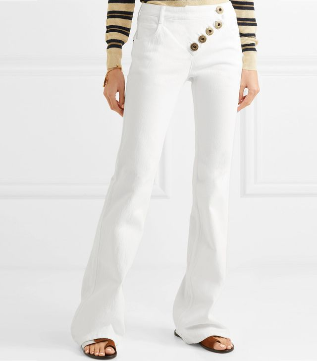 Prince Mid-rise Flared Jeans