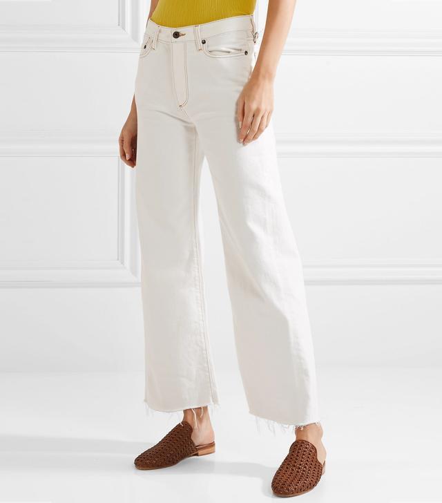 W006 Enid Mid-rise Wide-leg Jeans