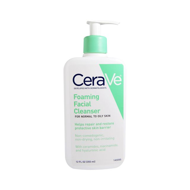 Foaming Facial Cleanser 16 oz for Daily Face Washing