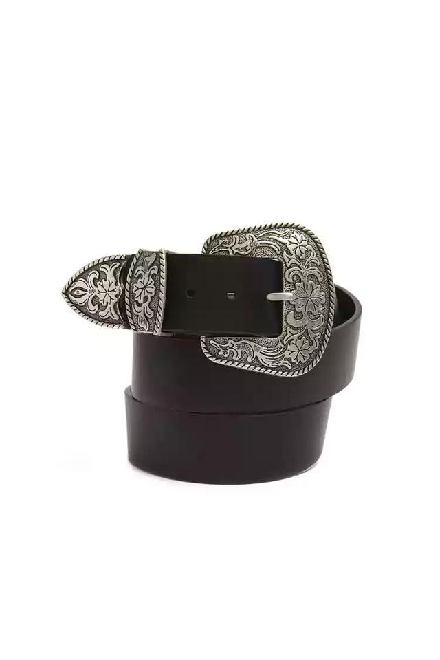 Plus Size Double Buckle Belt