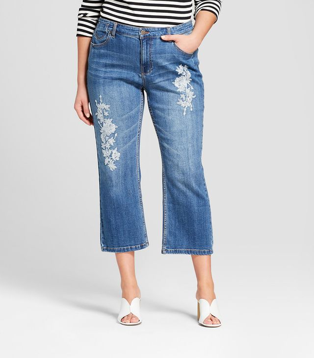 Who What Wear Crop Jeans
