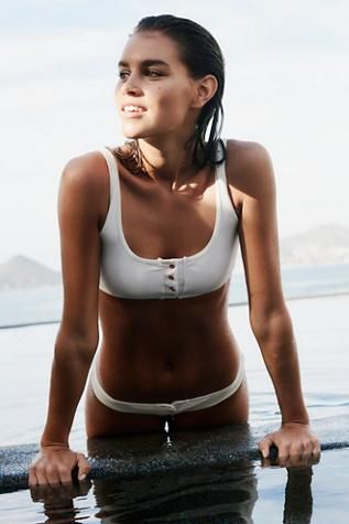 Alana Bikini Top by Frankies Bikinis at Free People