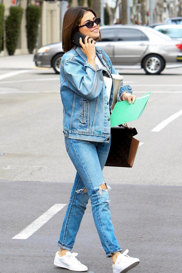 selena gomez levi's jeans