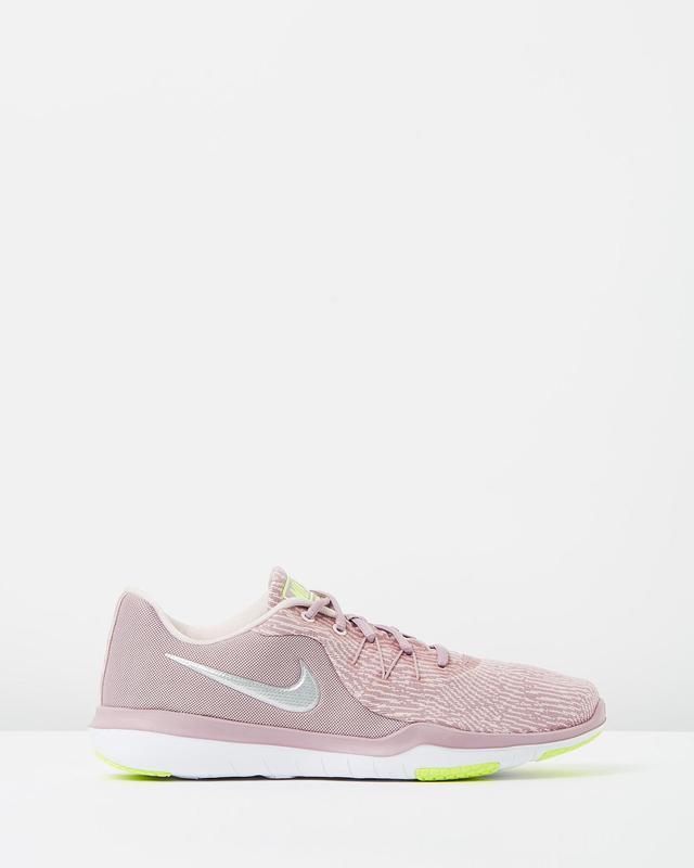 Nike Flex Supreme TR 6 Training Shoes in Elemental Rose & Metallic Silver