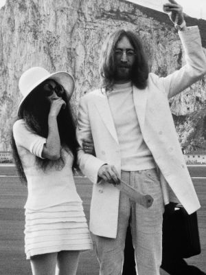 Yoko Ono Got Married in Sneakers and a Miniskirt 49 Years Ago Today