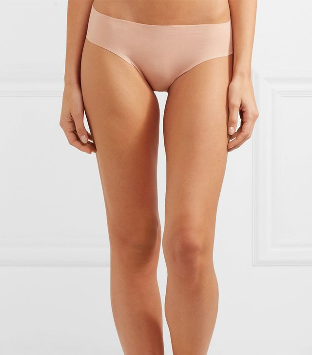 Set Of Two Stretch-cotton Briefs