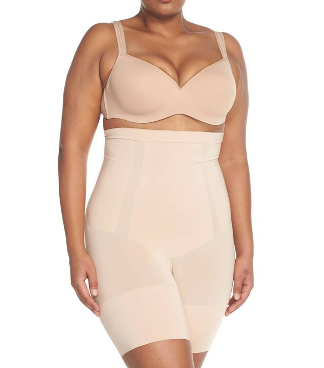 Plus Size Women's Spanx Oncore High Waist Mid-Thigh Shorts