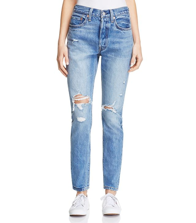 Levi's 501 Skinny Jeans in Old Hangouts