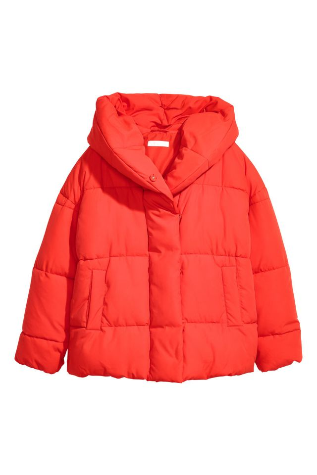 H&M Padded Jacket With a Hood